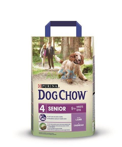 PURINA Dog Chow NR.4 Senior LAMB 2,5 kg new
