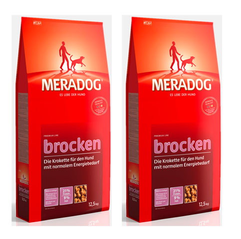 MERA DOG PREMIUM Brocken 2 x 12,5 kg DWUPAK