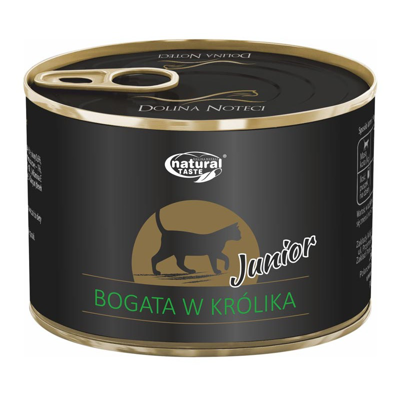 natural-taste-cat-junior-bogata-w-krolika-185-g.jpg DN NATURAL TASTE CAT JUNIOR z królikiem puszka dla kota 185 g