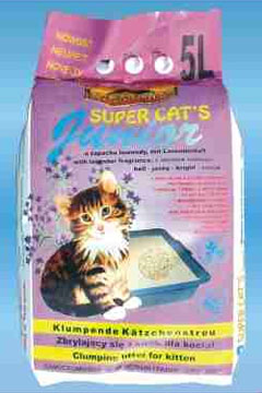 Żwirek dla kota Super Cat's Junior 5 l